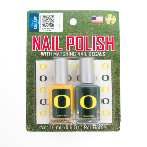 Nail Polish 2 Pack With 60 O Decals